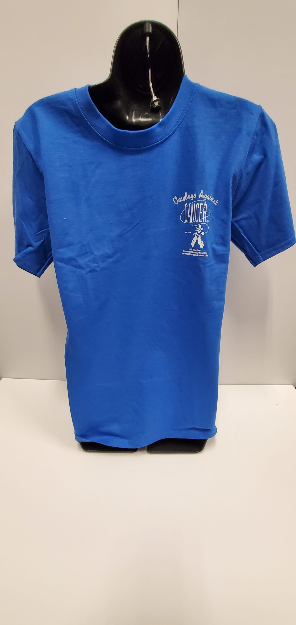 Blue – T-Shirt – Screen Print