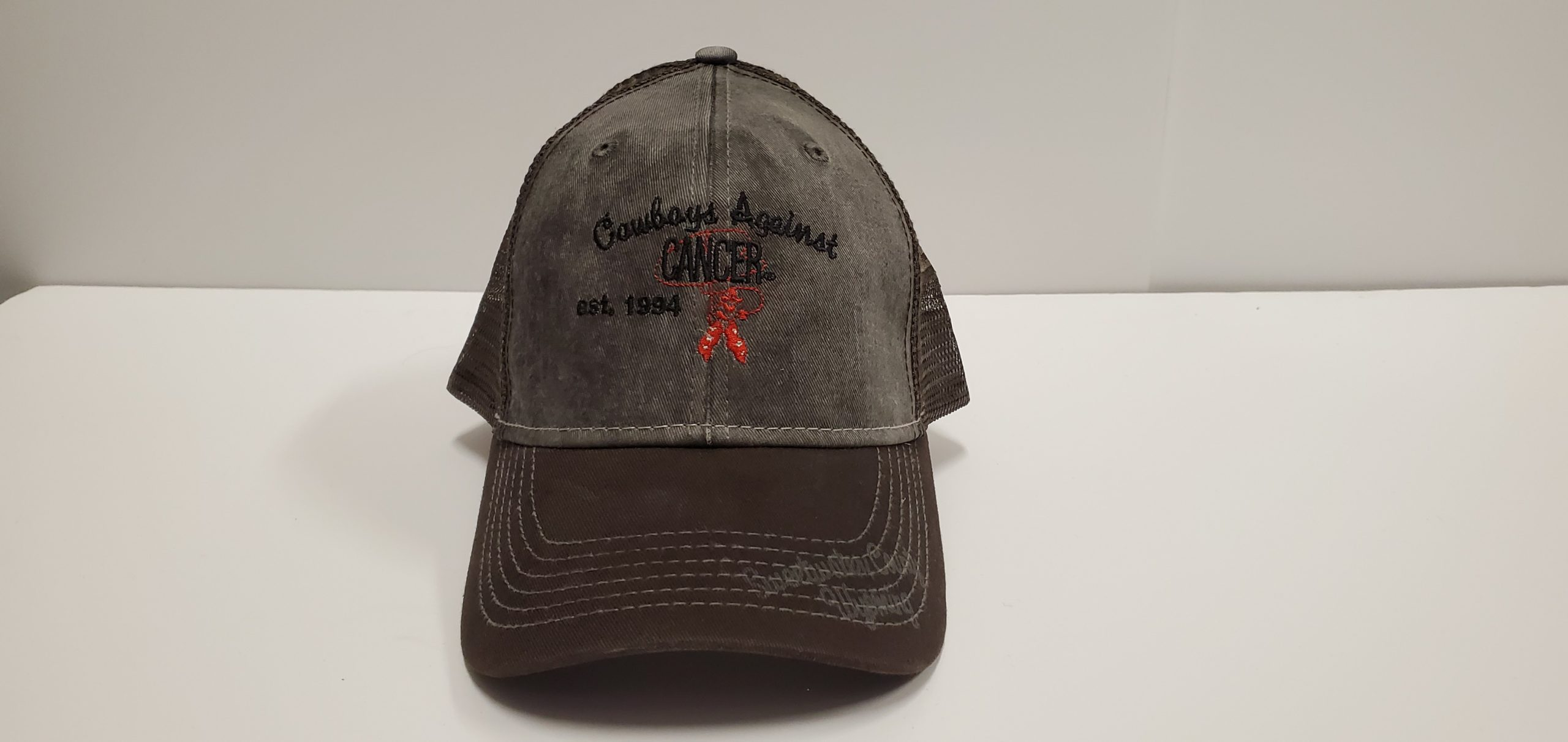 Charcoal Mesh Back Hat